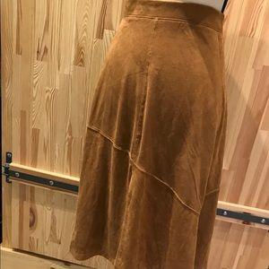 NWT MicroSuede Skirt